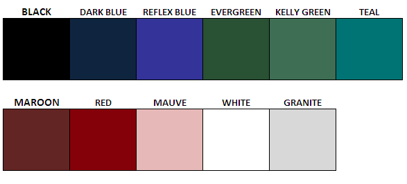 Lid Colors